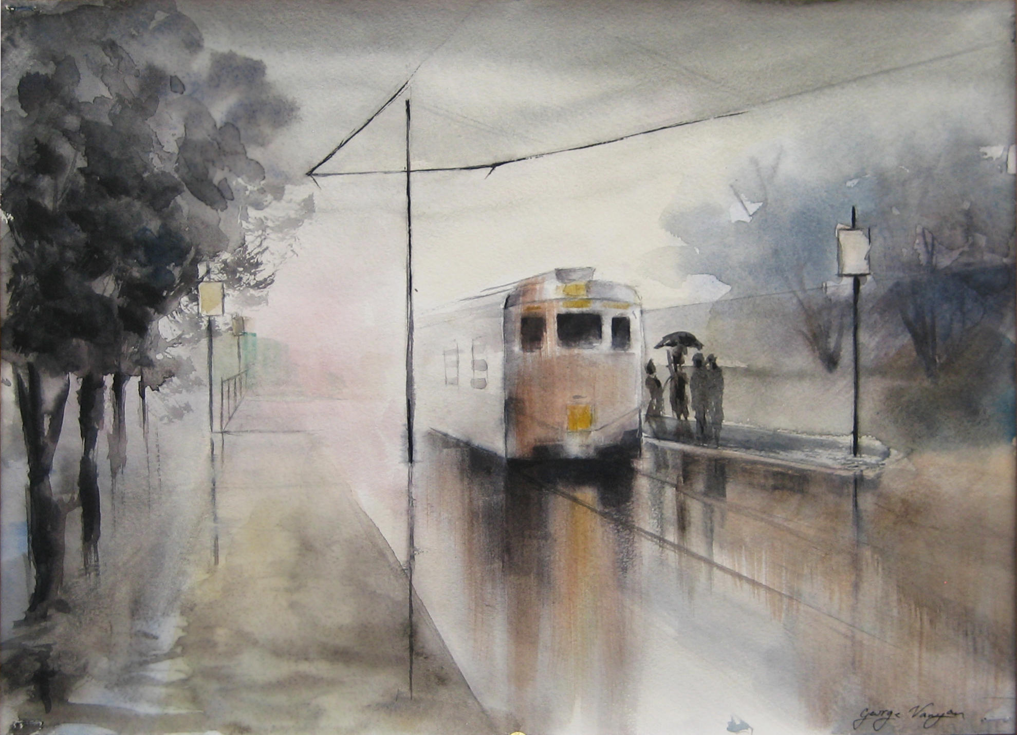 Train by GeorgeVanyan