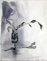 Glass flower by GeorgeVanyan