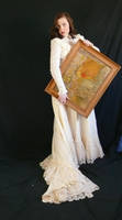 victorian dress with frame by magikstock