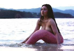 Mermaid at Dawn by SeaFairy-Fantasies