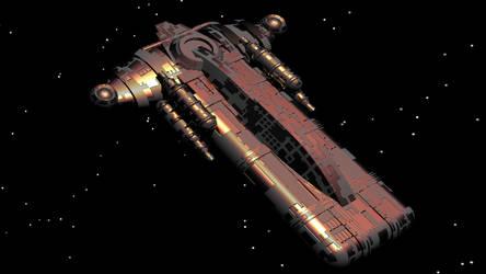 starship by wickedsteve