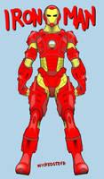 Iron man by wickedsteve
