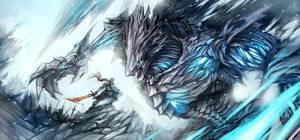 Boss Battle: FrostHeart by Haimerejzero