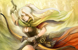 Elf Archer by Haimerejzero