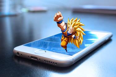DBZ Goku Pop Out by TM9622