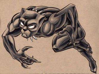 panther by jrosenbomb