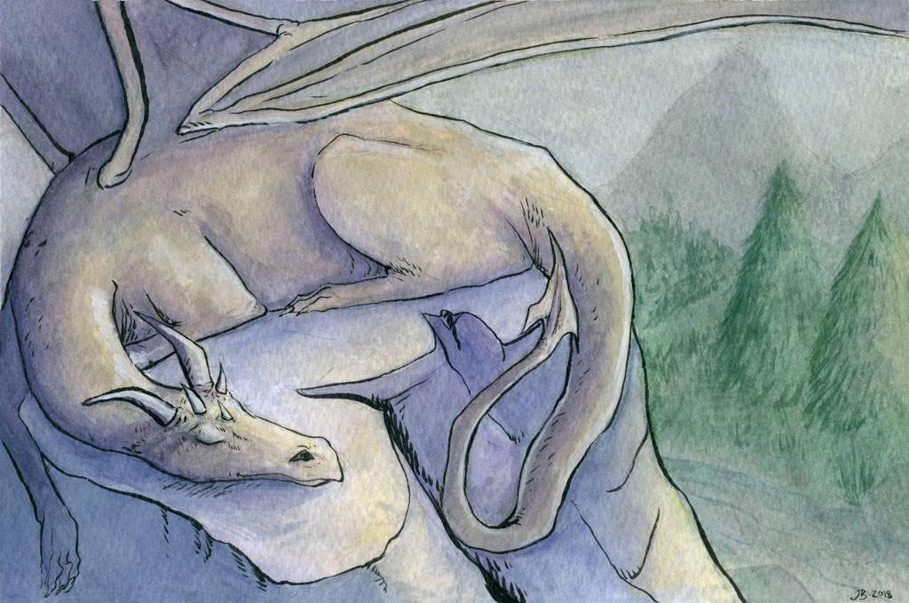The Sleeping Dragon by JuliaBusko