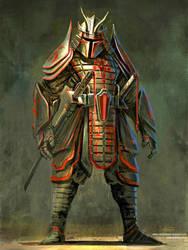 Samurai Boba Fett by cgfelker