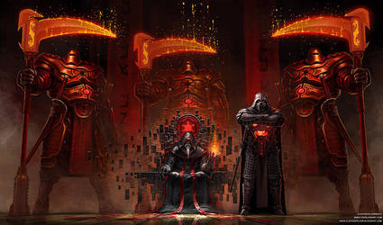 Imperial Throne Room by cgfelker