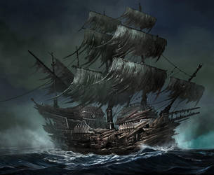 Pirates Age  Card Game illustration_ by cgfelker