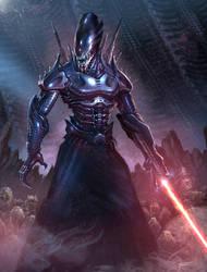 Xenomorph Sith by cgfelker
