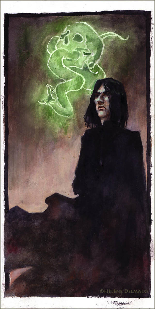S. Snape - Death Eater period by AnCatDubh