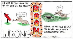 July 4th by cartoonistforchrist