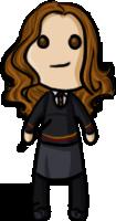 Harry Potter - Hermione by shrimp-pops
