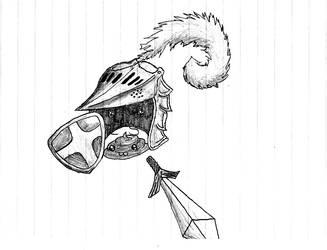 Sir Knightly Poo owo by Coahtemoc