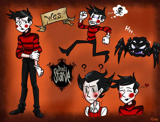 don't starve The wes  by gmil123