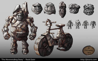 Rock Eater Concept by lhazar