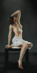 Figure Painting Practice 2 by lhazar