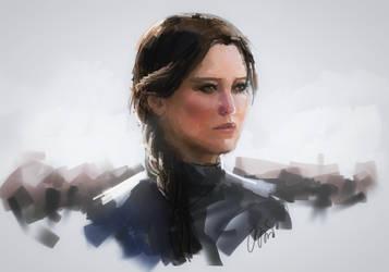 Katniss by EyeLashh