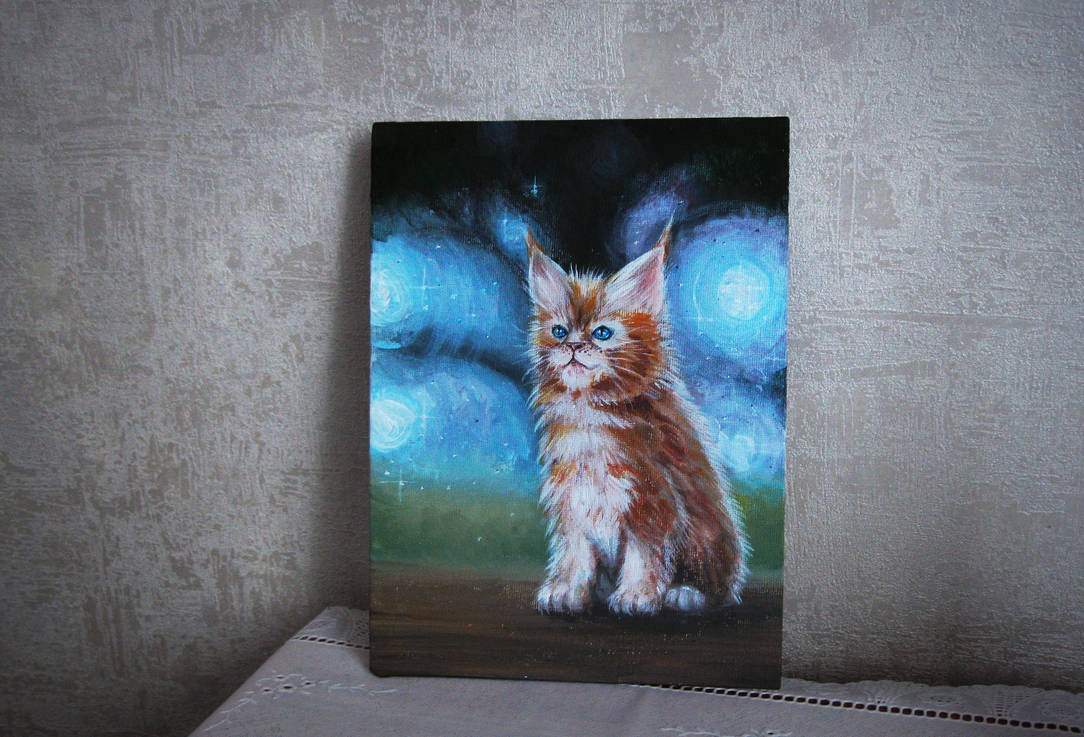 Maine Coon by EyeLashh