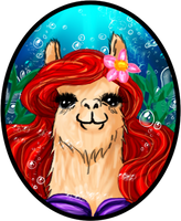 Llama Ariel XD by bloona