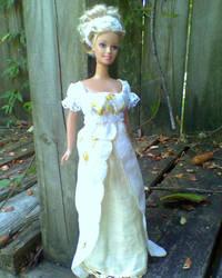 Barbie Regency-style Gown 3 by CissyPureblood