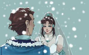 Zhu x Varrick wedding - Legend of Korra by N-For-Naru