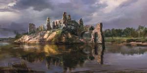 The Witcher 3 Wild Hunt Ruins by Scratcherpen