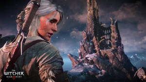 The Witcher 3 Wild Hunt The ashen haired girl Ciri by Scratcherpen
