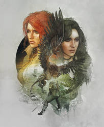 Witcher 3 steelbook Novigrad version version back by Scratcherpen