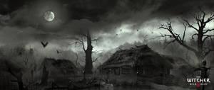 Marek Madej swamp village by marekmadej by Scratcherpen