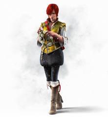 The Witcher 3 Wild Hunt Shani by Scratcherpen