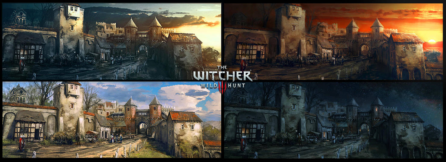 The Witcher 3 Wild Hunt Blood and Wine Mood Board by Scratcherpen