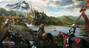 Blood and Wine Road to Palace by Scratcherpen