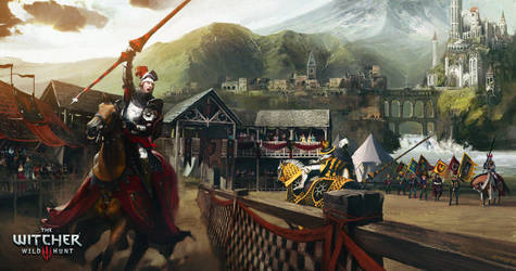 The Witcher 3 Wild Hunt Blood and Wine Tournament by Scratcherpen
