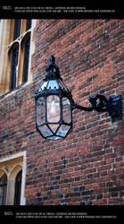 English street lamp by Mithgariel-stock