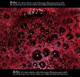 Bubbling blood texture by Mithgariel-stock