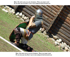 Vikings Do Battle (5) by Mithgariel-stock