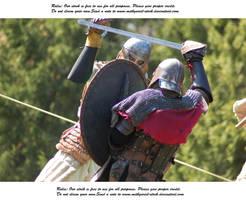 Vikings Do Battle (9) by Mithgariel-stock