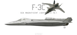 F-3C Shinden II (Sea Magnificent Lightning II FA.1 by fighterman35