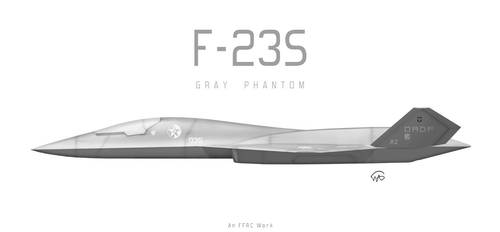 F-23S Gray Phantom by fighterman35