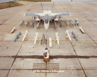 F-18A FSD#7 BuNo 160782 armament display, April 19 by fighterman35