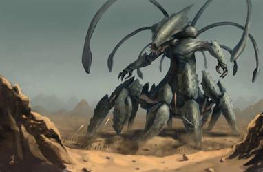the kraken by PointLineArea
