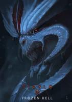 Frozen Diablo by PointLineArea
