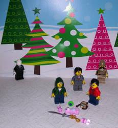 A Marki and Jack Christmas by LyndiaPinda