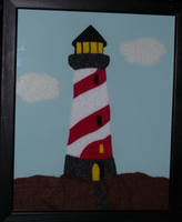 Feltart Lighthouse by LyndiaPinda