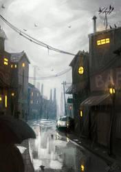 Rainy day by DFer32