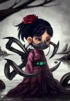 Evil girl? by DFer32