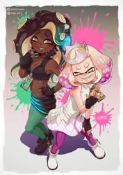 Marina and Pearl by DFer32