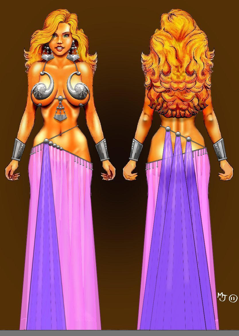 Dancing Outfit For Ternaka's Party by mjarrett1000